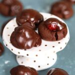 Easy Chocolate Covered Cherry Cookies | TheSuburbanSoapbox.com