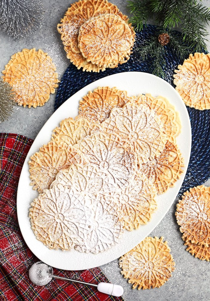 The Very Best Pizzelle Recipe The Suburban Soapbox