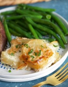 BEST Homemade Scalloped Potatoes Recipe | TheSuburbansoapbox.com
