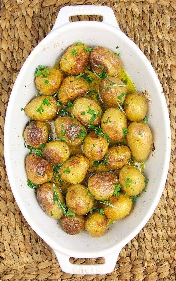Oven Roasted Baby Potatoes The Suburban Soapbox